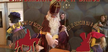 Sinterklaas bij dansschool A-Dance Studio's Amersfoort