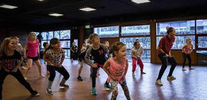 Afbeelding Hip Hop Mini A-Dance Studio's danslessen