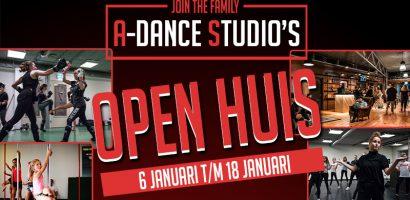Omslagfoto A-Dance Open Huis 2020